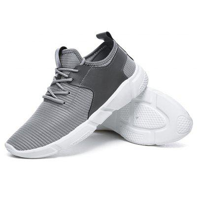 Men Casual Breathable Mesh Sneakers Comfort Running ShoesMen's Sneakers<br>Men Casual Breathable Mesh Sneakers Comfort Running Shoes<br><br>Available Size: 39-43<br>Closure Type: Lace-Up<br>Feature: Breathable<br>Gender: For Men<br>Outsole Material: Rubber<br>Package Contents: 1 x Shoes(pair)<br>Package Size(L x W x H): 32.00 x 20.00 x 10.00 cm / 12.6 x 7.87 x 3.94 inches<br>Package weight: 0.6000 kg<br>Pattern Type: Solid<br>Season: Summer<br>Upper Material: Cotton Fabric