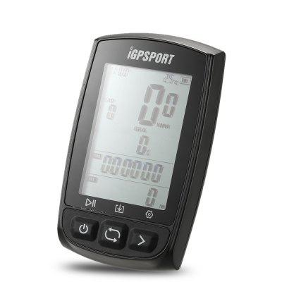 iGPSPORT IGS50E GPS Cycling ComputerBike Computers<br>iGPSPORT IGS50E GPS Cycling Computer<br><br>Brand: iGPSPORT<br>Color: Black,White<br>Features: Water Resistant, Back Light, Large Screen<br>Language: English<br>Material: ABS<br>Model Number: iGS50E<br>Package Content: 1 x iGS50E Computer, 1 x Micro USB Cable, 2 x Bike Mount ,4 x O-ring ,1 x User Manual<br>Package Dimension: 11.00 x 15.00 x 3.00 cm / 4.33 x 5.91 x 1.18 inches<br>Package weight: 0.1640 kg<br>Product Dimension: 8.00 x 5.30 x 2.50 cm / 3.15 x 2.09 x 0.98 inches<br>Product weight: 0.0800 kg<br>Suitable for: Road Bike, Touring Bicycle, Fixed Gear Bicycle, Mountain Bicycle<br>Type: Wireless