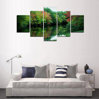 MailingArt FIV306  5 Panels Landscape Wall Art Painting Home Decor Canvas PrintPrints<br>MailingArt FIV306  5 Panels Landscape Wall Art Painting Home Decor Canvas Print<br><br>Craft: Print<br>Form: Five Panels<br>Material: Canvas<br>Package Contents: 5 x Print<br>Package size (L x W x H): 82.00 x 32.00 x 12.00 cm / 32.28 x 12.6 x 4.72 inches<br>Package weight: 1.8000 kg<br>Painting: Include Inner Frame<br>Shape: Horizontal Panoramic<br>Style: Scenic, Natural<br>Subjects: Landscape<br>Suitable Space: Living Room,Bedroom,Dining Room,Office,Hotel,Cafes,Kids Room,Kitchen,Hallway,Kids Room,Study Room / Office