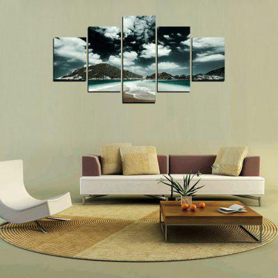 MailingArt FIV307  5 Panels Landscape Wall Art Painting Home Decor Canvas PrintPrints<br>MailingArt FIV307  5 Panels Landscape Wall Art Painting Home Decor Canvas Print<br><br>Craft: Print<br>Form: Five Panels<br>Material: Canvas<br>Package Contents: 5 x Print<br>Package size (L x W x H): 82.00 x 32.00 x 12.00 cm / 32.28 x 12.6 x 4.72 inches<br>Package weight: 1.8000 kg<br>Painting: Include Inner Frame<br>Shape: Horizontal Panoramic<br>Style: Scenic, Natural<br>Subjects: Landscape<br>Suitable Space: Living Room,Bedroom,Dining Room,Office,Hotel,Cafes,Kids Room,Kitchen,Hallway,Kids Room,Study Room / Office