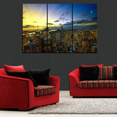 MailingArt FIV313  3 Panels Landscape Wall Art Painting Home Decor Canvas PrintPrints<br>MailingArt FIV313  3 Panels Landscape Wall Art Painting Home Decor Canvas Print<br><br>Craft: Print<br>Form: Three Panels<br>Material: Canvas<br>Package Contents: 3 x Print<br>Package size (L x W x H): 62.00 x 32.00 x 10.00 cm / 24.41 x 12.6 x 3.94 inches<br>Package weight: 1.8000 kg<br>Painting: Include Inner Frame<br>Shape: Horizontal Panoramic<br>Style: Chic/Modern, Construction, Natural<br>Subjects: Architecture<br>Suitable Space: Living Room,Bedroom,Dining Room,Office,Hotel,Cafes,Kids Room,Kitchen,Hallway,Kids Room,Study Room / Office