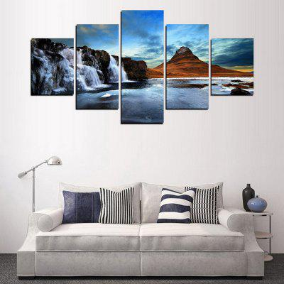 MailingArt FIV318  5 Panels Landscape Wall Art Painting Home Decor Canvas PrintPrints<br>MailingArt FIV318  5 Panels Landscape Wall Art Painting Home Decor Canvas Print<br><br>Craft: Print<br>Form: Five Panels<br>Material: Canvas<br>Package Contents: 5 x Print<br>Package size (L x W x H): 82.00 x 32.00 x 12.00 cm / 32.28 x 12.6 x 4.72 inches<br>Package weight: 1.8000 kg<br>Painting: Include Inner Frame<br>Shape: Horizontal Panoramic<br>Style: Scenic, Natural<br>Subjects: Landscape<br>Suitable Space: Living Room,Bedroom,Dining Room,Office,Hotel,Cafes,Kids Room,Kitchen,Hallway,Kids Room,Study Room / Office