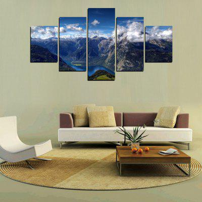 MailingArt FIV320  5 Panels Landscape Wall Art Painting Home Decor Canvas PrintPrints<br>MailingArt FIV320  5 Panels Landscape Wall Art Painting Home Decor Canvas Print<br><br>Craft: Print<br>Form: Five Panels<br>Material: Canvas<br>Package Contents: 5 x Print<br>Package size (L x W x H): 82.00 x 32.00 x 12.00 cm / 32.28 x 12.6 x 4.72 inches<br>Package weight: 1.8000 kg<br>Painting: Include Inner Frame<br>Shape: Horizontal Panoramic<br>Style: Scenic, Natural<br>Subjects: Landscape<br>Suitable Space: Living Room,Bedroom,Dining Room,Office,Hotel,Cafes,Kids Room,Kitchen,Hallway,Kids Room,Study Room / Office