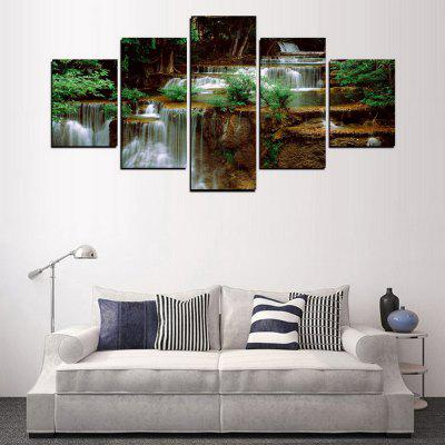 MailingArt FIV324  5 Panels Landscape Wall Art Painting Home Decor Canvas PrintPrints<br>MailingArt FIV324  5 Panels Landscape Wall Art Painting Home Decor Canvas Print<br><br>Craft: Print<br>Form: Five Panels<br>Material: Canvas<br>Package Contents: 5 x Print<br>Package size (L x W x H): 82.00 x 32.00 x 12.00 cm / 32.28 x 12.6 x 4.72 inches<br>Package weight: 1.8000 kg<br>Painting: Include Inner Frame<br>Shape: Horizontal Panoramic<br>Style: Scenic, Natural<br>Subjects: Landscape<br>Suitable Space: Living Room,Bedroom,Dining Room,Office,Hotel,Cafes,Kids Room,Kitchen,Hallway,Kids Room,Study Room / Office