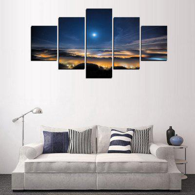 MailingArt FIV332  5 Panels Landscape Wall Art Painting Home Decor Canvas PrintPrints<br>MailingArt FIV332  5 Panels Landscape Wall Art Painting Home Decor Canvas Print<br><br>Craft: Print<br>Form: Five Panels<br>Material: Canvas<br>Package Contents: 5 x Print<br>Package size (L x W x H): 82.00 x 32.00 x 12.00 cm / 32.28 x 12.6 x 4.72 inches<br>Package weight: 1.8000 kg<br>Painting: Include Inner Frame<br>Shape: Horizontal Panoramic<br>Style: Scenic, Natural<br>Subjects: Landscape<br>Suitable Space: Living Room,Bedroom,Dining Room,Office,Hotel,Cafes,Kids Room,Kitchen,Hallway,Kids Room,Study Room / Office