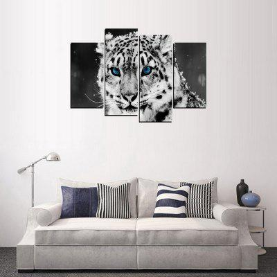 MailingArt FIV337  4 Panels Landscape Wall Art Painting Home Decor Canvas PrintPrints<br>MailingArt FIV337  4 Panels Landscape Wall Art Painting Home Decor Canvas Print<br><br>Craft: Print<br>Form: Four Panels<br>Material: Canvas<br>Package Contents: 4 x Print<br>Package size (L x W x H): 82.00 x 32.00 x 12.00 cm / 32.28 x 12.6 x 4.72 inches<br>Package weight: 1.8000 kg<br>Painting: Include Inner Frame<br>Shape: Horizontal Panoramic<br>Style: Vehicle, Landscape, Office, Natural, Animal, Popular<br>Subjects: Animal<br>Suitable Space: Living Room,Bedroom,Dining Room,Office,Hotel,Cafes,Kids Room,Kitchen,Hallway,Kids Room,Study Room / Office