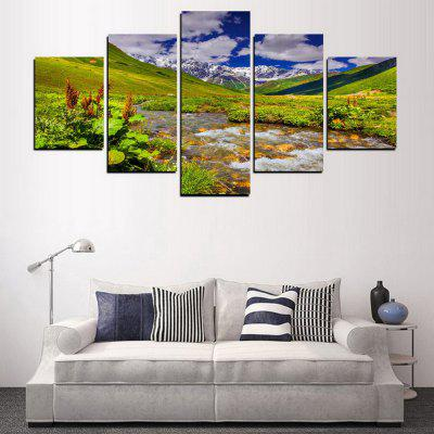 MailingArt FIV339  5 Panels Landscape Wall Art Painting Home Decor Canvas PrintPrints<br>MailingArt FIV339  5 Panels Landscape Wall Art Painting Home Decor Canvas Print<br><br>Craft: Print<br>Form: Five Panels<br>Material: Canvas<br>Package Contents: 5 x Print<br>Package size (L x W x H): 82.00 x 32.00 x 12.00 cm / 32.28 x 12.6 x 4.72 inches<br>Package weight: 1.8000 kg<br>Painting: Include Inner Frame<br>Shape: Horizontal Panoramic<br>Style: Scenic, Natural<br>Subjects: Landscape<br>Suitable Space: Living Room,Bedroom,Dining Room,Office,Hotel,Cafes,Kids Room,Kitchen,Hallway,Kids Room,Study Room / Office
