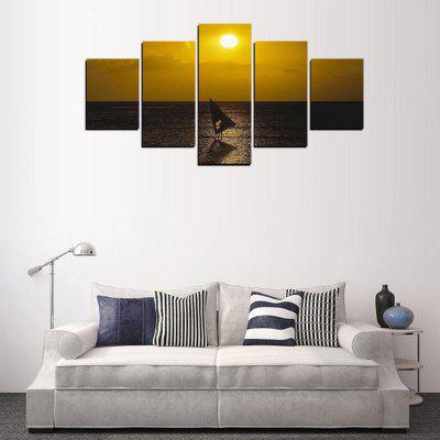 MailingArt FIV345  5 Panels Landscape Wall Art Painting Home Decor Canvas PrintPrints<br>MailingArt FIV345  5 Panels Landscape Wall Art Painting Home Decor Canvas Print<br><br>Craft: Print<br>Form: Five Panels<br>Material: Canvas<br>Package Contents: 5 x Print<br>Package size (L x W x H): 82.00 x 32.00 x 12.00 cm / 32.28 x 12.6 x 4.72 inches<br>Package weight: 1.8000 kg<br>Painting: Include Inner Frame<br>Shape: Horizontal Panoramic<br>Style: Scenic, Natural<br>Subjects: Landscape<br>Suitable Space: Living Room,Bedroom,Dining Room,Office,Hotel,Cafes,Kids Room,Kitchen,Hallway,Kids Room,Study Room / Office