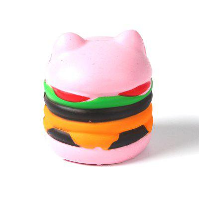 Jumbo Squishy PU Slow Rebound Stress Relief Toy Replica Pink Burger Cat for AdultsSquishy toys<br>Jumbo Squishy PU Slow Rebound Stress Relief Toy Replica Pink Burger Cat for Adults<br><br>Age Range: &gt; 6 years old<br>Color: Pink<br>Materials: PU<br>Package Content: 1 x Toy<br>Package Dimension: 10.50 x 10.50 x 12.00 cm / 4.13 x 4.13 x 4.72 inches<br>Pattern Type: Delicacy<br>Product Dimension: 8.50 x 8.50 x 10.00 cm / 3.35 x 3.35 x 3.94 inches<br>Products Type: Toy<br>Use: Cabinet Decoration, Photography Props, Home Decoration