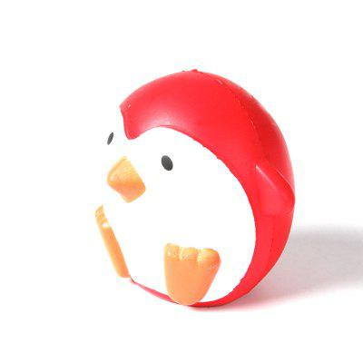 Jumbo Squishy PU Slow Rebound Stress Relief Toy Replica Red Penguin for AdultsSquishy toys<br>Jumbo Squishy PU Slow Rebound Stress Relief Toy Replica Red Penguin for Adults<br><br>Age Range: &gt; 6 years old<br>Color: Red<br>Materials: PU<br>Package Content: 1 x Toy<br>Package Dimension: 12.00 x 11.00 x 13.50 cm / 4.72 x 4.33 x 5.31 inches<br>Pattern Type: Animal<br>Product Dimension: 10.00 x 9.00 x 11.50 cm / 3.94 x 3.54 x 4.53 inches<br>Products Type: Toy<br>Use: Cabinet Decoration, Photography Props, Home Decoration