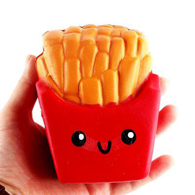 Jumbo Squishy Slow Rebound Stress Relief Toy Replica Combination of French Fries with Burger Cat for Adults 2PCSSquishy toys<br>Jumbo Squishy Slow Rebound Stress Relief Toy Replica Combination of French Fries with Burger Cat for Adults 2PCS<br><br>Age Range: &gt; 6 years old<br>Materials: PU<br>Package Content: 2 x Toy<br>Package Dimension: 16.00 x 8.00 x 13.00 cm / 6.3 x 3.15 x 5.12 inches<br>Pattern Type: Snack<br>Product Dimension: 14.00 x 6.00 x 12.00 cm / 5.51 x 2.36 x 4.72 inches<br>Products Type: Toy<br>Use: Cabinet Decoration, Photography Props, Home Decoration