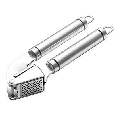Stainless Steel Professional Garlic Press Mincer Peeler Plus Cleaning Brush Ergonomic and DurableFruit &amp; Vegetable Tools<br>Stainless Steel Professional Garlic Press Mincer Peeler Plus Cleaning Brush Ergonomic and Durable<br><br>Package Contents: 1 x Garlic Press,1 x Brush,1 x Mill garlic<br>Package size (L x W x H): 20.00 x 4.00 x 7.00 cm / 7.87 x 1.57 x 2.76 inches<br>Package weight: 0.2700 kg<br>Product weight: 0.2600 kg
