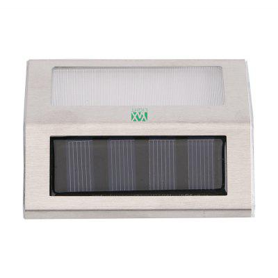YWXLight Outdoor LED Solar Power Energy Light Sun Power Waterproof Path Street Stair Wall LampOutdoor Lights<br>YWXLight Outdoor LED Solar Power Energy Light Sun Power Waterproof Path Street Stair Wall Lamp<br><br>Brand: YWXLight<br>Bulb Included: Yes<br>Color Temperature or Wavelength: Warm White 2700 - 3200K, Cold White 6000 - 6500K<br>Features: Waterproof<br>LED Quantity: 2 LED<br>Lifetime ( h ): More Than  30000<br>Light Source Color: Warm White,Cold White<br>Package Contents: 1 x YWXLight Solar Light, 2 x YWXLight Screw<br>Package size (L x W x H): 10.50 x 9.00 x 3.00 cm / 4.13 x 3.54 x 1.18 inches<br>Package weight: 0.1100 kg<br>Power Supply: Solar Powered<br>Primary Application: Outdoor Lighting,Hallway or Stairwell,Storage Room or Utility Room,Garage or Carport<br>Product size (L x W x H): 10.00 x 8.30 x 2.30 cm / 3.94 x 3.27 x 0.91 inches<br>Product weight: 0.0890 kg<br>Switch Type: Clicky<br>Type: LED Solar Lights<br>Voltage: DC 5V<br>Wattage: 2W