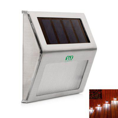 YWXLight Outdoor LED Solar Power Energy Light Sun Power Waterproof Path Street Stair Wall Lamp