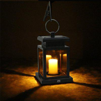 Ywxlight solar powered led outdoor candle lantern outdoor for Lanterne deco exterieur