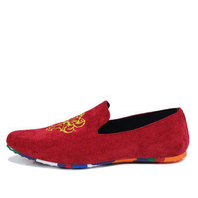 ZEACAVA Mens Fashion Casual  Sneakers Peas ShoesFlats &amp; Loafers<br>ZEACAVA Mens Fashion Casual  Sneakers Peas Shoes<br><br>Available Size: 39-44<br>Closure Type: Slip-On<br>Embellishment: Appliques<br>Gender: For Men<br>Lining Material: Cotton Fabric<br>Outsole Material: Rubber<br>Package Contents: 1 x Shoes (Pair)<br>Pattern Type: Print<br>Season: Spring/Fall<br>Toe Shape: Round Toe<br>Toe Style: Closed Toe<br>Upper Material: Cloth<br>Weight: 1.2000kg