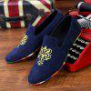 ZEACAVA Hommes Fashion Casual Sneakers Pois Chaussures - BLEU
