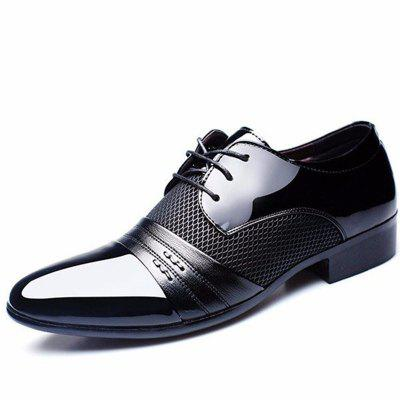 Men Large Size Formal Pointed Toe Lace Up Business Blucher ShoesFormal Shoes<br>Men Large Size Formal Pointed Toe Lace Up Business Blucher Shoes<br><br>Available Size: 38-47<br>Closure Type: Lace-Up<br>Embellishment: Hollow Out<br>Gender: For Men<br>Occasion: Dress<br>Outsole Material: Rubber<br>Package Contents: 1 x Pair of Shoes<br>Pattern Type: Geometric<br>Season: Summer, Spring/Fall<br>Toe Shape: Pointed Toe<br>Toe Style: Closed Toe<br>Upper Material: PU<br>Weight: 1.5000kg