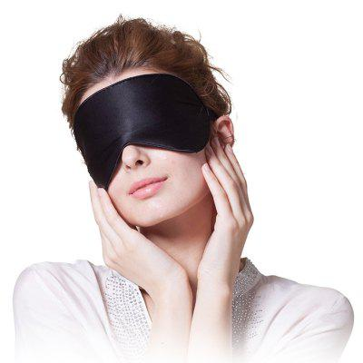 Sleeping Eye Mask Silk Eyeshade Cover Shade Travel Patch Women Men Soft Portable Blindfold Super Smooth