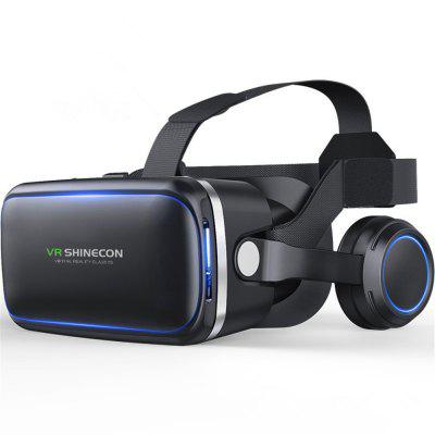 3D Glasses Virtual Reality Headset for VR Games and Amp Eye Care System for IPhone and Android Smartphones