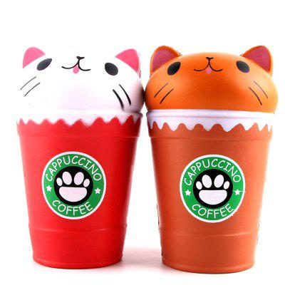 Jumbo Squishy Slow Rebound Stress Relief Toy Replica Cartoon Cat Head Coffee Cup for AdultsSquishy toys<br>Jumbo Squishy Slow Rebound Stress Relief Toy Replica Cartoon Cat Head Coffee Cup for Adults<br><br>Age Range: &gt; 6 years old<br>Materials: PU<br>Package Content: 1 x Toy<br>Package Dimension: 11.00 x 8.00 x 16.00 cm / 4.33 x 3.15 x 6.3 inches<br>Pattern Type: Cup<br>Product Dimension: 9.00 x 6.00 x 14.00 cm / 3.54 x 2.36 x 5.51 inches<br>Products Type: Toy<br>Use: Cabinet Decoration, Photography Props, Home Decoration