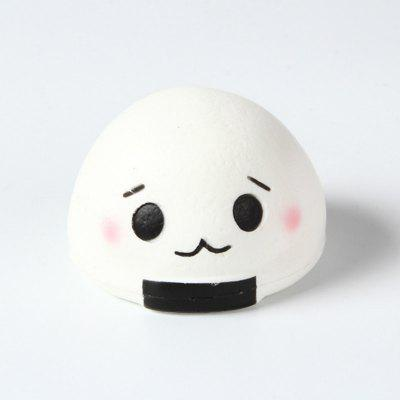 Jumbo Squishy Slow Rebound Stress Relief Pendant Toy Replica Steamed Bun for AdultsSquishy toys<br>Jumbo Squishy Slow Rebound Stress Relief Pendant Toy Replica Steamed Bun for Adults<br><br>Age Range: &gt; 6 years old<br>Color: White<br>Materials: Vinyl<br>Package Content: 1 x Toy<br>Package Dimension: 11.00 x 11.00 x 9.00 cm / 4.33 x 4.33 x 3.54 inches<br>Pattern Type: Snack<br>Product Dimension: 9.00 x 9.00 x 7.00 cm / 3.54 x 3.54 x 2.76 inches<br>Products Type: Toy<br>Use: Cabinet Decoration, Photography Props, Home Decoration