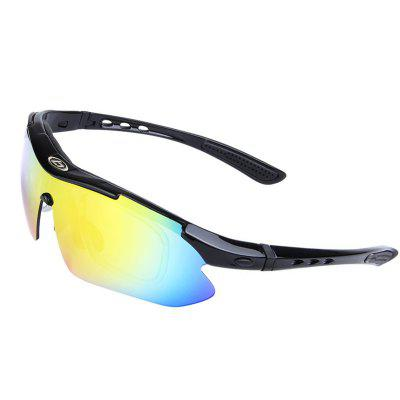 OBAOLAY SP0868 Polarized Sports Sunglasses Durable Unbreakable Frame Goggles SetCycling Sunglasses<br>OBAOLAY SP0868 Polarized Sports Sunglasses Durable Unbreakable Frame Goggles Set<br><br>Ear-stems Length: 109mm<br>Features: with Myopic Frame, Polarized lens, Anti-UV, Replaceable Lens, Removable Legs<br>Frame Materials: Plastic<br>Gender: Unisex<br>Lens height: 44mm<br>Lens material: PC<br>Lens width: 144mm<br>Model Number: SP0868<br>Nose bridge width: 25mm<br>Package Contents: 1 x Spectacle Case, 1 x Frame, 5 x Lens, 1 x Glasses Cloth, 1 x Test Card, 1 x Glasses Cord, 1 x Myopia Glasses Frame, 1 x Protecting Bag, 1 x Sports Bandage<br>Package Size(L x W x H): 20.00 x 15.00 x 10.00 cm / 7.87 x 5.91 x 3.94 inches<br>Package weight: 0.3100 kg<br>Product weight: 0.3000 kg<br>Suitable for: Hiking, Camping, Cycling<br>Type: Goggle<br>Whole Length: 156mm