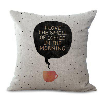 C1065 - 15 The New English Letter Printing Sofa Cushion Pillow Cover 45 x 45cm