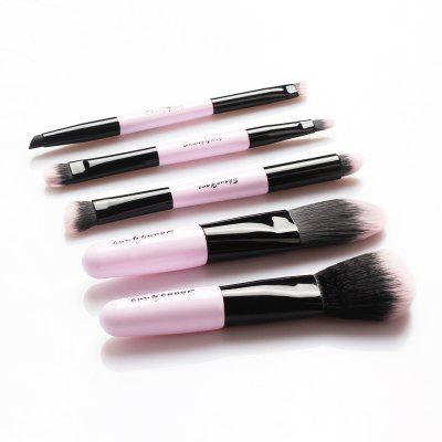 A8 Double Head Brushes 5PCSMakeup Brushes &amp; Tools<br>A8 Double Head Brushes 5PCS<br><br>Brush Material: Goat Hair<br>Handle Material: Wood<br>Package Content: 5 x Brush<br>Package size (L x W x H): 20.00 x 10.00 x 3.00 cm / 7.87 x 3.94 x 1.18 inches<br>Package weight: 0.1200 kg<br>Product size (L x W x H): 19.00 x 1.00 x 1.00 cm / 7.48 x 0.39 x 0.39 inches<br>Product weight: 0.0800 kg<br>Used With: Concealer,Foundation,Blusher,Eye Shadow,Sets / Kits,Eyebrow Powder