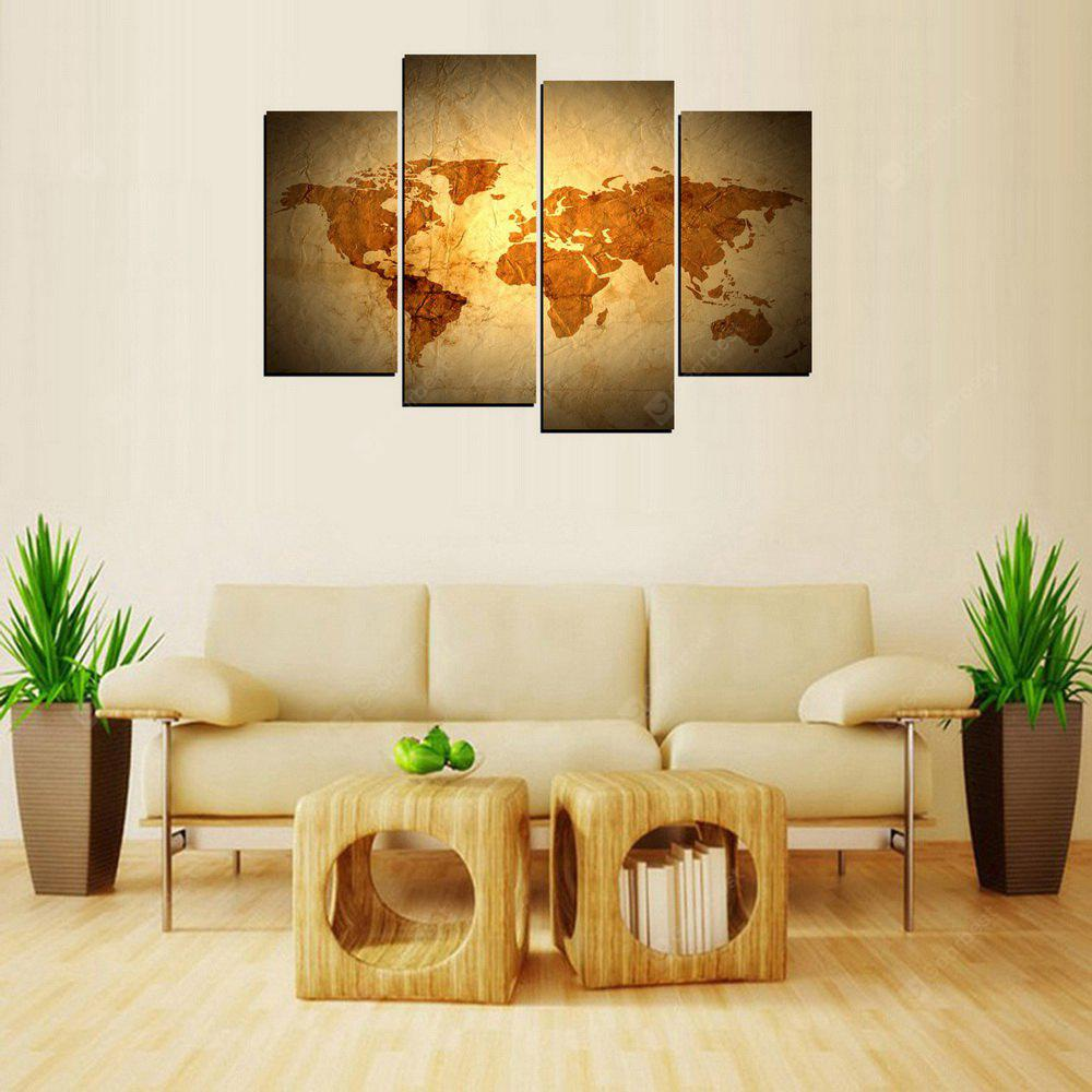 MailingArt FIV344 4 Panels Landscape Wall Art Painting Home Decor ...