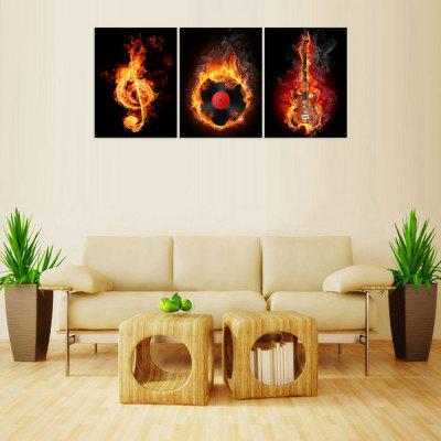 MailingArt FIV 3 Panels Landscape Wall Art Painting Home Decor Canvas Print