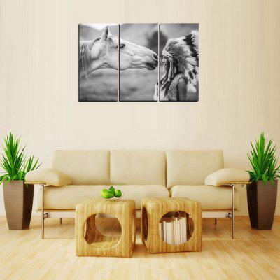 Buy MailingArt FIV350 3 Panels Landscape Wall Art Painting Home Decor Canvas Print, COLORMIX, Home & Garden, Home Decors, Wall Art, Prints for $57.16 in GearBest store
