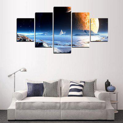 MailingArt FIV359  5 Panels Landscape Wall Art Painting Home Decor Canvas PrintPrints<br>MailingArt FIV359  5 Panels Landscape Wall Art Painting Home Decor Canvas Print<br><br>Craft: Print<br>Form: Five Panels<br>Material: Canvas<br>Package Contents: 5 x Print<br>Package size (L x W x H): 82.00 x 32.00 x 12.00 cm / 32.28 x 12.6 x 4.72 inches<br>Package weight: 1.8000 kg<br>Painting: Include Inner Frame<br>Shape: Horizontal Panoramic<br>Style: Natural<br>Subjects: Landscape<br>Suitable Space: Bedroom,Cafes,Dining Room,Hallway,Hotel,Kids Room,Kids Room,Kitchen,Living Room,Office,Study Room / Office