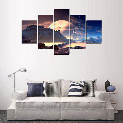 MailingArt FIV358  5 Panels Landscape Wall Art Painting Home Decor Canvas PrintPrints<br>MailingArt FIV358  5 Panels Landscape Wall Art Painting Home Decor Canvas Print<br><br>Craft: Print<br>Form: Five Panels<br>Material: Canvas<br>Package Contents: 5 x Print<br>Package size (L x W x H): 82.00 x 32.00 x 12.00 cm / 32.28 x 12.6 x 4.72 inches<br>Package weight: 1.8000 kg<br>Painting: Include Inner Frame<br>Shape: Horizontal Panoramic<br>Style: Scenic, Oil Painting, Military, Natural<br>Subjects: People<br>Suitable Space: Bedroom,Cafes,Corridor,Dining Room,Hallway,Hotel,Kitchen,Living Room,Office,Study Room / Office