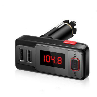 Wireless Handsfree USB Car Charger with FM Transmitter and MP3 Player