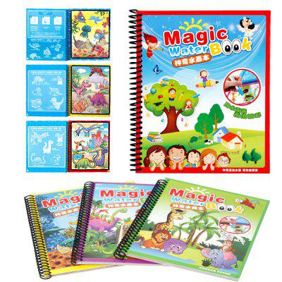Children Magic Water Painting Writing Board Graffiti Painting Baby Kindergarten Scene Painted Toys Book CopyingOther Educational Toys<br>Children Magic Water Painting Writing Board Graffiti Painting Baby Kindergarten Scene Painted Toys Book Copying<br><br>Age: 3 Years+<br>Applicable gender: Unisex<br>Design Style: Cartoon<br>Features: DIY<br>Gender: Unisex<br>Material: Others<br>Package Contents: 1 x Set of Toys<br>Package size (L x W x H): 18.00 x 3.00 x 21.00 cm / 7.09 x 1.18 x 8.27 inches<br>Package weight: 0.1600 kg<br>Small Parts: Yes<br>Type: Intelligence toys<br>Washing: No