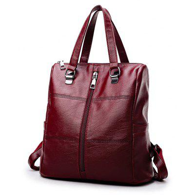 Women Multifunctional Casual Backpack Large Capacity Lattice Zipbook Books Fashion BackpacksBackpacks<br>Women Multifunctional Casual Backpack Large Capacity Lattice Zipbook Books Fashion Backpacks<br><br>For: Climbing, Cycling, Camping, Traveling<br>Material: PU Leather<br>Package Contents: 1 x Backpack<br>Package size (L x W x H): 29.00 x 15.00 x 28.00 cm / 11.42 x 5.91 x 11.02 inches<br>Package weight: 0.4600 kg<br>Product size (L x W x H): 28.00 x 15.00 x 28.00 cm / 11.02 x 5.91 x 11.02 inches<br>Product weight: 0.4500 kg<br>Type: Backpack