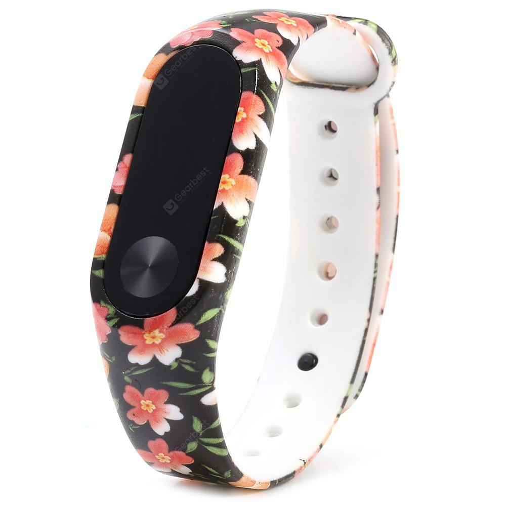 For Xiaomi Mi Band 2 TPU Colorful Wristband Replacement Strap