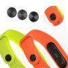 For Xiaomi Mi Band 2 Smart Wristband 3PCS Band Buckle - BLACK