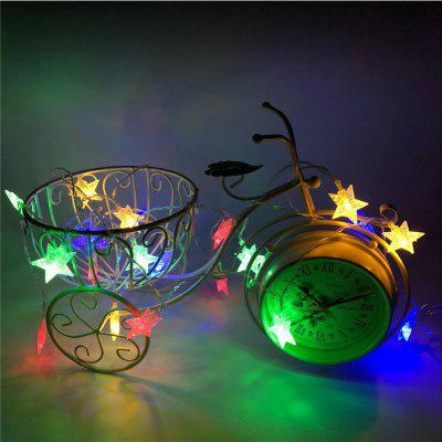 1PC Garland Christmas Lights Stars Outdoor Indoor Fairy Lights Battery Powered For Tree Home DecorationDecorative Lights<br>1PC Garland Christmas Lights Stars Outdoor Indoor Fairy Lights Battery Powered For Tree Home Decoration<br><br>Package Contents: 1 x LED String Lights<br>Package size (L x W x H): 8.00 x 14.50 x 10.00 cm / 3.15 x 5.71 x 3.94 inches<br>Package weight: 0.3000 kg<br>SellerSKU: DS013
