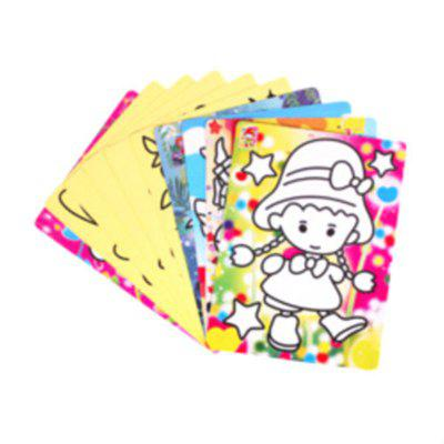 18 Colors Sand Drawing Set Kids DIY Puzzle Handmade Early Education Art ToyOther Educational Toys<br>18 Colors Sand Drawing Set Kids DIY Puzzle Handmade Early Education Art Toy<br><br>Age: 3 Years+<br>Applicable gender: Boys,Girls<br>Design Style: Old Master<br>Features: DIY<br>Gender: Boys,Girls<br>Material: Sand, Paper<br>Package Contents: 18 x Bottles, 30 x Painting Card, 1 x Brush<br>Package size (L x W x H): 33.00 x 5.00 x 23.00 cm / 12.99 x 1.97 x 9.06 inches<br>Package weight: 1.5000 kg<br>Product size (L x W x H): 31.00 x 3.00 x 21.00 cm / 12.2 x 1.18 x 8.27 inches<br>Puzzle Style: Drawing<br>Small Parts: No<br>Type: Intelligence toys<br>Washing: No