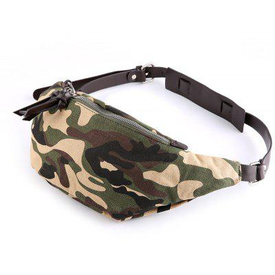 Buy Camouflage Crossbody Unbalance Backpack Canvas Men Chest Pack European Sling Bag CAMOUFLAGE for $27.91 in GearBest store