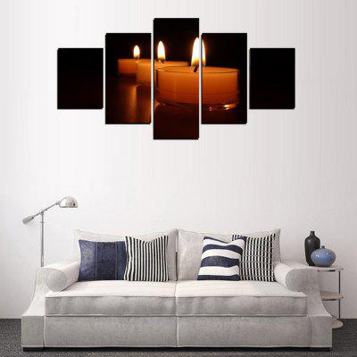 MailingArt FIV364  5 Panels Landscape Wall Art Painting Home Decor Canvas PrintPrints<br>MailingArt FIV364  5 Panels Landscape Wall Art Painting Home Decor Canvas Print<br><br>Craft: Print<br>Form: Five Panels<br>Material: Canvas<br>Package Contents: 5 x Print<br>Package size (L x W x H): 82.00 x 32.00 x 12.00 cm / 32.28 x 12.6 x 4.72 inches<br>Package weight: 1.8000 kg<br>Painting: Include Inner Frame<br>Shape: Horizontal Panoramic<br>Style: Candle Feature, Concise<br>Subjects: Still Life<br>Suitable Space: Living Room,Bedroom,Dining Room,Office,Hotel,Cafes,Kitchen,Corridor,Hallway,Study Room / Office