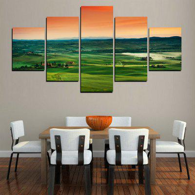 MailingArt FIV375  5 Panels Landscape Wall Art Painting Home Decor Canvas PrintPrints<br>MailingArt FIV375  5 Panels Landscape Wall Art Painting Home Decor Canvas Print<br><br>Craft: Print<br>Form: Five Panels<br>Material: Canvas<br>Package Contents: 5 x Print<br>Package size (L x W x H): 82.00 x 32.00 x 12.00 cm / 32.28 x 12.6 x 4.72 inches<br>Package weight: 1.8000 kg<br>Painting: Include Inner Frame<br>Shape: Horizontal Panoramic<br>Style: Scenic, Natural<br>Subjects: Landscape<br>Suitable Space: Living Room,Bedroom,Dining Room,Office,Hotel,Cafes,Kids Room,Kitchen,Hallway,Kids Room,Study Room / Office