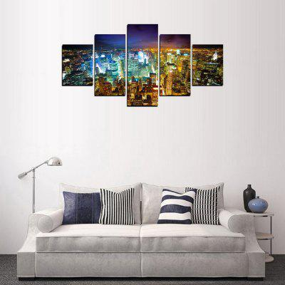 MailingArt FIV378  5 Panels Landscape Wall Art Painting Home Decor Canvas PrintPrints<br>MailingArt FIV378  5 Panels Landscape Wall Art Painting Home Decor Canvas Print<br><br>Craft: Print<br>Form: Five Panels<br>Material: Canvas<br>Package Contents: 5 x Print<br>Package size (L x W x H): 82.00 x 32.00 x 10.00 cm / 32.28 x 12.6 x 3.94 inches<br>Package weight: 1.8000 kg<br>Painting: Include Inner Frame<br>Shape: Horizontal Panoramic<br>Style: City View, Military, Retro, Scenic<br>Subjects: Still Life<br>Suitable Space: Living Room,Bedroom,Dining Room,Office,Hotel,Cafes,Kids Room,Kitchen,Hallway,Kids Room,Study Room / Office