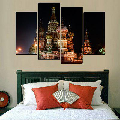 MailingArt FIV389  4 Panels Landscape Wall Art Painting Home Decor Canvas PrintPrints<br>MailingArt FIV389  4 Panels Landscape Wall Art Painting Home Decor Canvas Print<br><br>Craft: Print<br>Form: Four Panels<br>Material: Canvas<br>Package Contents: 4 x Print<br>Package size (L x W x H): 82.00 x 32.00 x 12.00 cm / 32.28 x 12.6 x 4.72 inches<br>Package weight: 1.8000 kg<br>Painting: Include Inner Frame<br>Shape: Horizontal Panoramic<br>Style: Construction, Vintage/Nostalgic Euramerican Style<br>Subjects: Architecture<br>Suitable Space: Living Room,Bedroom,Dining Room,Office,Hotel,Cafes,Kids Room,Kitchen,Hallway,Kids Room,Study Room / Office