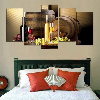 MailingArt FIV394  5 Panels Landscape Wall Art Painting Home Decor Canvas PrintPrints<br>MailingArt FIV394  5 Panels Landscape Wall Art Painting Home Decor Canvas Print<br><br>Craft: Print<br>Form: Five Panels<br>Material: Canvas<br>Package Contents: 5 x Print<br>Package size (L x W x H): 82.00 x 32.00 x 12.00 cm / 32.28 x 12.6 x 4.72 inches<br>Package weight: 1.8000 kg<br>Painting: Include Inner Frame<br>Shape: Horizontal Panoramic<br>Style: Construction, Beach Style, Fruit<br>Subjects: Seascape<br>Suitable Space: Living Room,Bedroom,Dining Room,Office,Hotel,Cafes,Kids Room,Kitchen,Pathway,Hallway,Kids Room,Study Room / Office,Boys Room