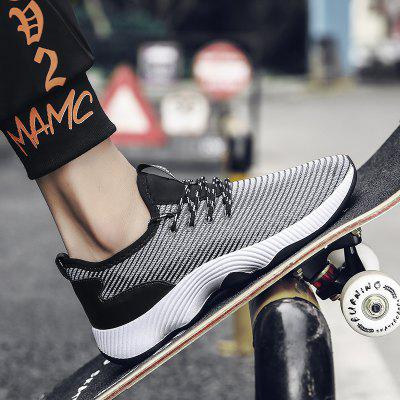 Fashion Breathable And Comfortable SneakersMen's Sneakers<br>Fashion Breathable And Comfortable Sneakers<br><br>Available Size: 39-44<br>Closure Type: Lace-Up<br>Feature: Breathable<br>Gender: For Men<br>Outsole Material: Rubber<br>Package Contents: 1xShoes(pair)<br>Package Size(L x W x H): 31.00 x 20.00 x 11.00 cm / 12.2 x 7.87 x 4.33 inches<br>Package weight: 0.8000 kg<br>Pattern Type: Solid<br>Season: Spring/Fall<br>Upper Material: Cotton Fabric