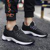 Fashion Breathable And Comfortable Sneakers - BLACK