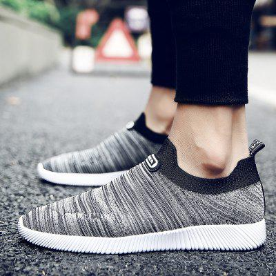 Mens Breathable Mesh Sleeve Feet Casual ShoesCasual Shoes<br>Mens Breathable Mesh Sleeve Feet Casual Shoes<br><br>Available Size: 39-44<br>Closure Type: Slip-On<br>Embellishment: None<br>Gender: For Men<br>Outsole Material: Rubber<br>Package Contents: 1xShoes(pair)<br>Pattern Type: Solid<br>Season: Summer, Winter, Spring/Fall<br>Toe Shape: Round Toe<br>Toe Style: Closed Toe<br>Upper Material: Cotton Fabric<br>Weight: 1.3640kg